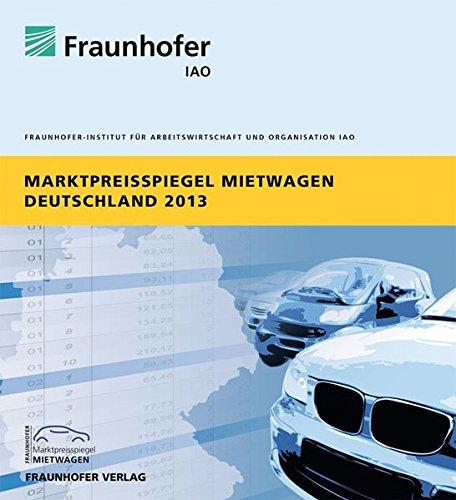 Marktpreisspiegel Mietwagen Deutschland 2013.