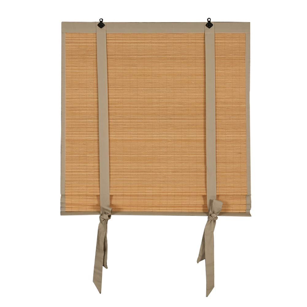 Estor enrollable YXX Persianas enrollables inalámbricas, Cortinas Opacas de bambú para el día y la Noche, Cortinas enrollables Personalizadas de bambú, fáciles de Instalar (Tamaño : 60x80cm): Amazon.es: Hogar