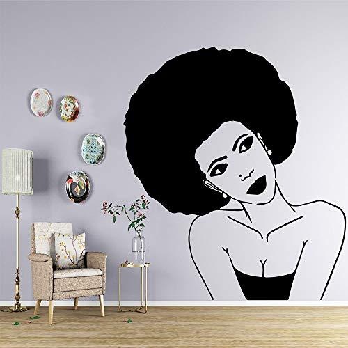 yaonuli Coloré Femme Auto-adhésif Vinyle étanche Sticker Mural Salon décoration de la Maison vinyl45X51cm