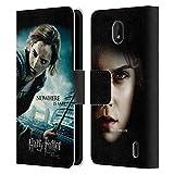 Officiel Harry Potter Hermione Granger Deathly Hallows VII Coque en Cuir à Portefeuille Compatible...