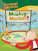 Barrel of Monkeys: Monkey Mischief! (Storytime Stickers)