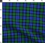 Schottenmuster, Schottenkaro, Schottisch, Blau, Grün