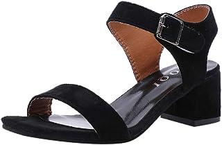 【Feteso サンダル】 レディース ファッション 2019 Fashion Women Sandal 春夏 歩きやすい 快適 美脚 滑りにくい おしゃれ 着心地よい 多色選択可能