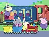 George's New Dinosaur / Grandpa Pig's Train to the Rescue