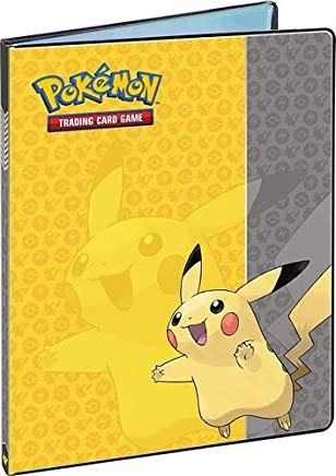 Asmodee - 84554 - Cahier Ranges - 180 cartes - Pikachu (Version Française)