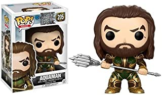Funko POP! Movies: DC Justice League – Aquaman Toy Figure