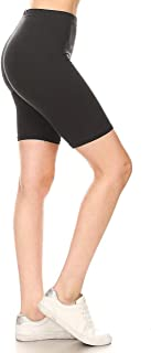 Leggings Depot Women's Fashion Biker Workout Shorts Popular Prints & Solid Color