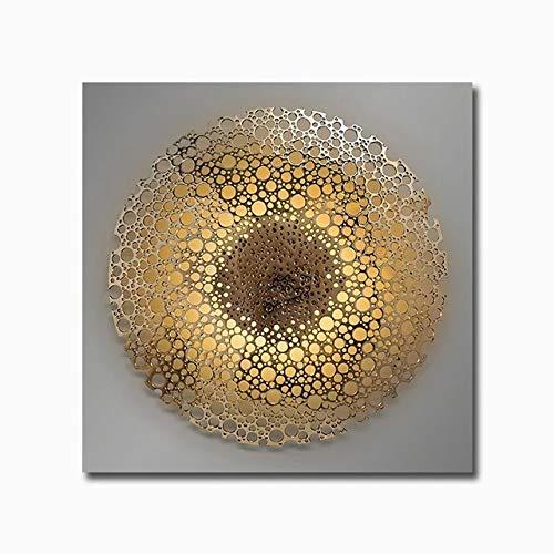 BGFDV Moderno Cartel de Lujo de Oro Negro geométrico Abstracto Lienzo Pintura nórdico Arte de la Pared impresión Imagen Sala de Estar decoración del hogar