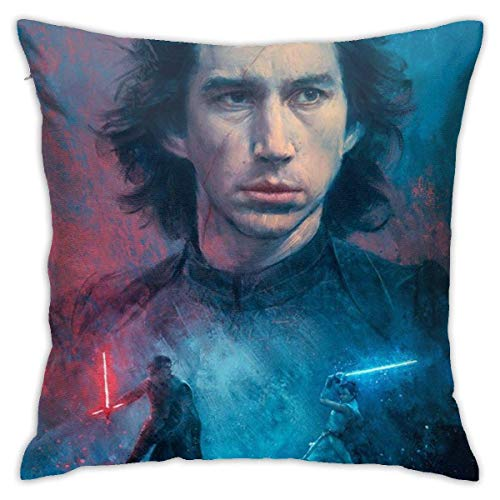 maichengxuan Pillow Case Adam Douglas Driver Fashion Square Pillowcase Throw Cushion Cover 18in18in