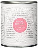 Gusto Mundial Flor de Sal d'Es Trenc Hibiskus Salz 150g | unbehandeltes, naturbelassenes Meersalz aus Mallorca | Mit getrockneten Hibiskusblüten
