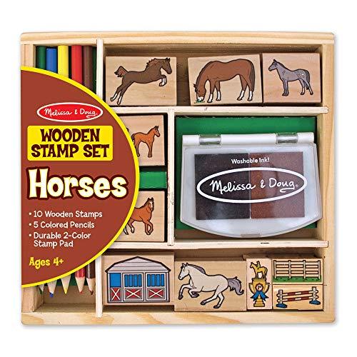Horses Stamp Set: Arts & Crafts - Stamps