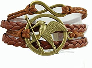 hunger games leather bracelet
