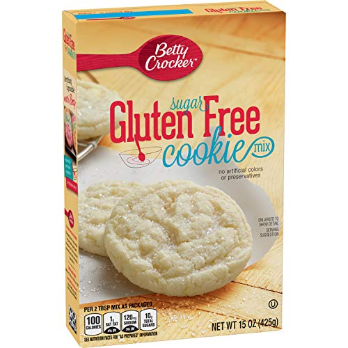 Betty Crocker Baking Mix, Gluten Free Cookie Mix, Sugar, 15 Oz Box