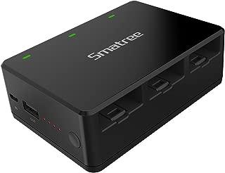 Smatree DJI Telloバッテリー用急速充電器 7200mAh携帯式モバイルバッテリー 同時にバッテリー3個充電でき DT30