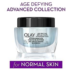 Gel Moisturizer with Hyaluronic Acid by Olay Age Defying, 1.7 fl oz