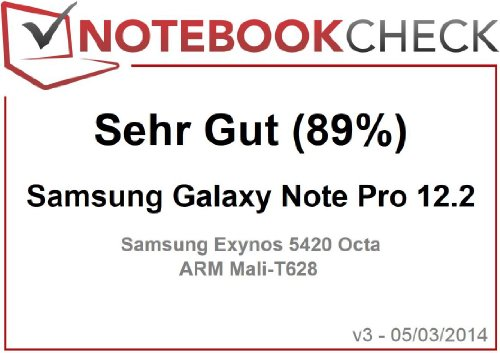 Samsung Galaxy Note Pro Tablet P900 12,2 Zoll - 5