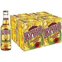 Desperados Cerveza - 4 Packs de 6 Botellas x 250 ml - Total: 6 L