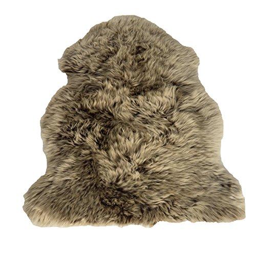 Leibersperger Felle Peau d'agneau 6030 Coussin pour fauteuil Taille XL 110 x 70 cm Couleur cappuccino