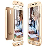 CE-LINK Housse Etui Samsung Galaxy J5 2017, Coque Non Slip Surface & Electro Placage Texture Coque Galaxy J5 2017, Ultra-Mince 3...