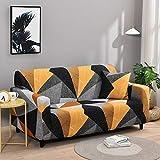 WXQY Combinación de Funda de sofá elástica con patrón...