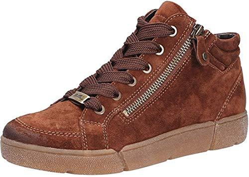 ARA Damen Rom 1214435 High-Top Sneaker, Braun Setter 07, 40 EU, 6.5 UK