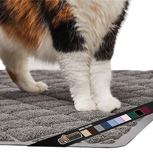 Gorilla Grip Original Premium Durable Cat Litter Mat, 35x23, XL Jumbo, Water Resistant, Traps Litter from Box and Cats, Scatter Control, Soft on Kitty...