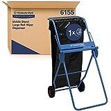 Kimberly-Clark Professional 6155 Dispensador de paños en rollo grande en soporte móvil, ...