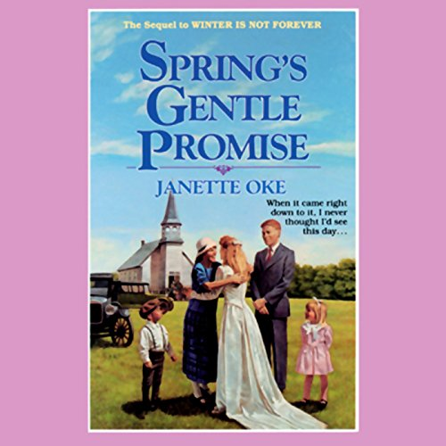 Spring's Gentle Promise audiobook cover art