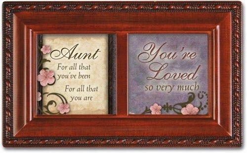 Tía Youre amó So muy mucho vetas Petite caja de música Reproduce cómo Great Thou Art por Cottage Garden