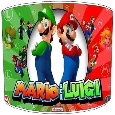 Premier Lighting Super Mario et Luigi Abat-Jour pour Enfants - 10 inch pour Un plafonnier