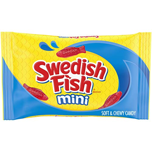SWEDISH FISH Mini Soft & Chewy Candy, 14 oz Bag
