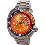 Seiko Prospex'Nemo' Automatic Diver's 200M Orange Dial Watch SRPC95K1