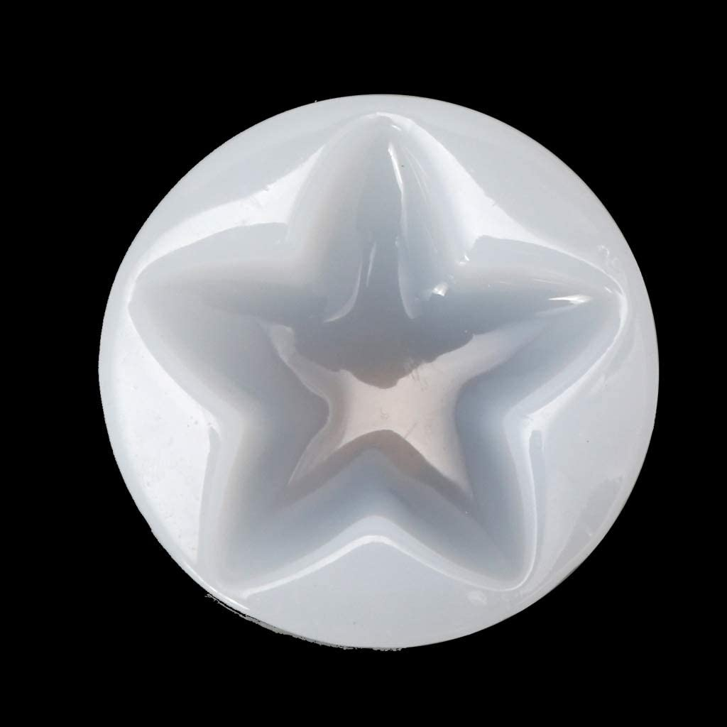 Max 54% New Orleans Mall OFF Heart Star Shape Jewelry Mold Penda Epoxy Resin Silicone Casting