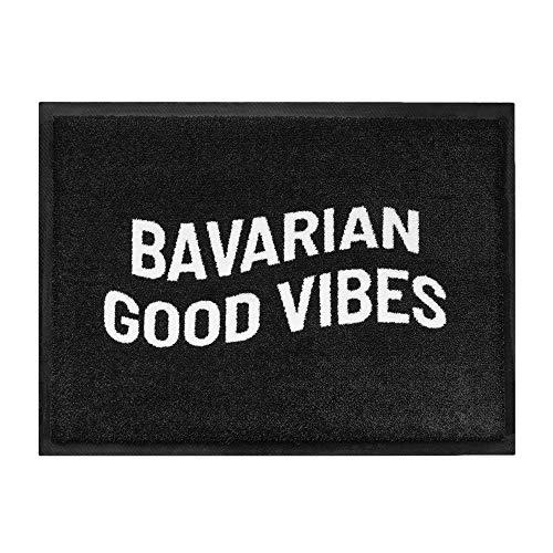 Du Hirsch | Bavarian Good Vibes | Bayerische Fussmatte | B x H: 60 cm x 45 cm