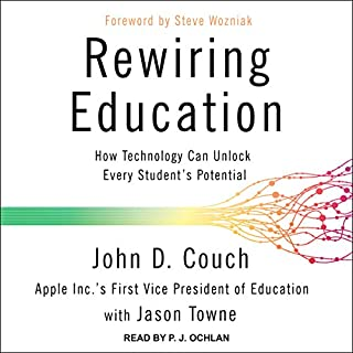 Rewiring Education audiobook cover art