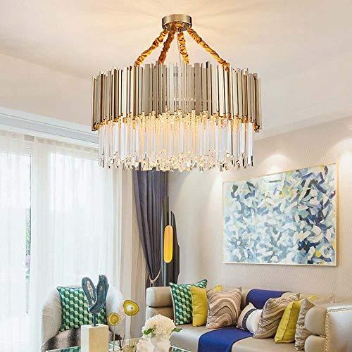 Estilo Americano 45 * 30cm, 60 * 35 cm en Todo el Cobre Retro Creativo Ambiente Habitación Sala de la lámpara Candelabros YFJFJ Tienda (Size : 60 * 35cm)