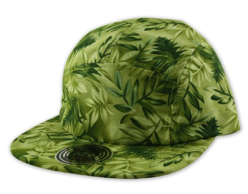 Itzu - Casquette de Baseball - À fleurs - Homme Vert Vert Taille unique