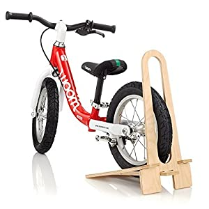 WOOM BIKES USA Wooden Bike Stand, 12/14, Beige by WOOM BIKES USA