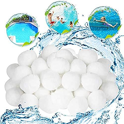 ZHOUHON La Sfera Filtrante da 700 G Viene Utilizzata Come Materiale Filtrante della Pompa della Piscina, Sostituendo 25 kg di Sabbia Filtrante per Il Filtro A Sabbia della Piscina