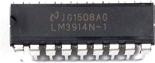 Commande bargraph 10 leds Lineaire                               LM3914 LM3914