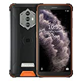 Blackview BV6600E Teléfono Movil Resistente, Android 11 Smartphone Robusto, 8580mAh Batería, IP68 IP69K Móviles Antigolpes, 5.7' HD+,13MP+5MP Cámara,4+32GB,Octa-Core,Dual SIM 4G,Fingerprint,OTG/GPS