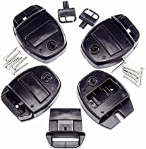 The Essentials Co Hot Tub Spa Cover Locks w/Key Pinch Release set of 4