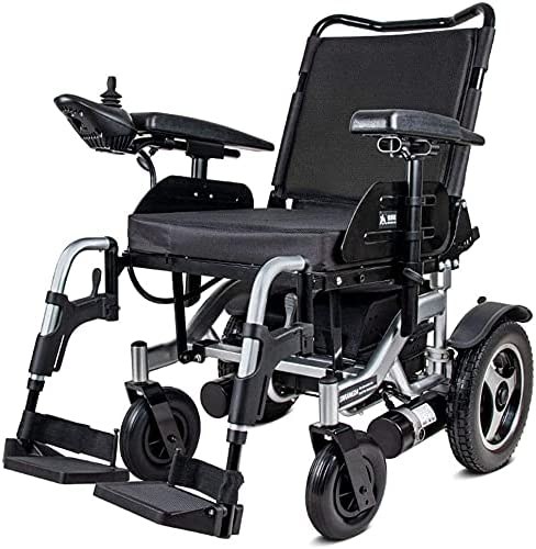 Indianapolis Mall Aluminum OFFicial Alloy Electric Wheelchair Folding Non-Infla Lightweight