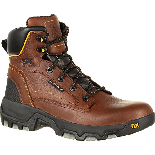 Georgia Boot FLXpoint Waterproof Work Boot (US 9,5) Brown