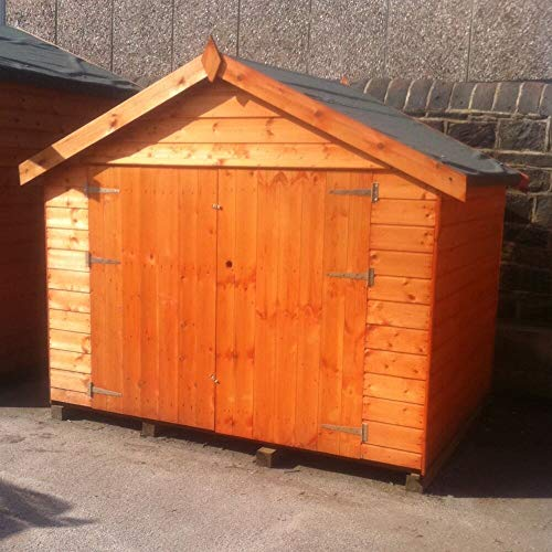 Pinelap 7x5 Bike Shed Quality T&G Apex Bike Store
