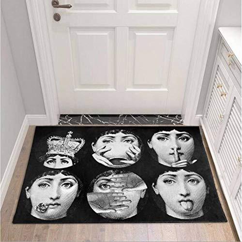 FORNCALO Fornasetti tapijten tapijten deurmatten matten Fornasetti woonkamer corridor tapijten Scandinavische huis binnen slaapkamer badkamer deurmat keuken Tatami tapijt
