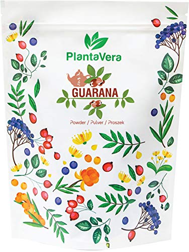 HerbaNordPol Brazilian Guarana Seed Powder Natural Energy Pure 1KG