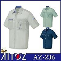 半袖シャツ カラー:008ネイビー サイズ:4L