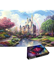 Matoseast Environmental Puzzle 1000 Pieces Jigsaw Puzzle Kids Adult Pure Wooden