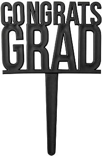 Congrats Grad Graduation Party Cupcake Picks - 24 pc